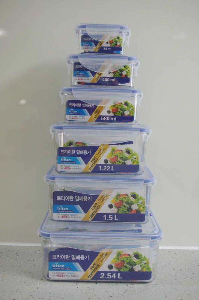 bpa free tritan vacuum airtight incense premium food container 185ml 2 54l incensepremium
