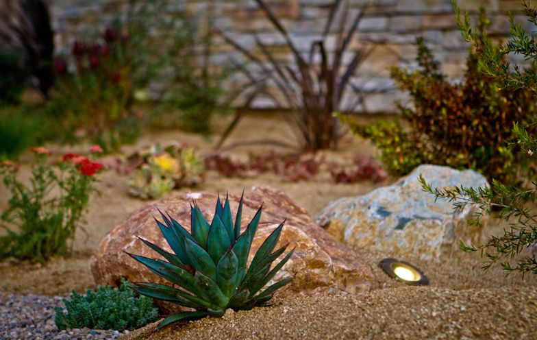 Landscape Design For Low Water Usage Clairemont San Diego Rock