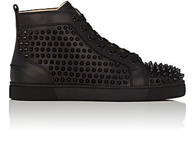 Christian Louboutin Louis Flat Leather Sneakers
