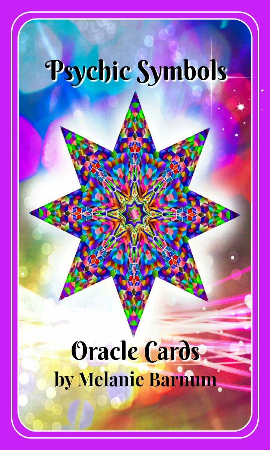 My new Psychic Symbols Oracle Cards! For sale on my website!