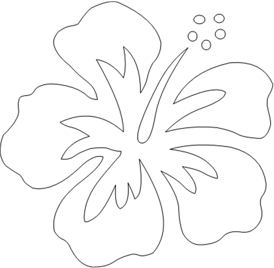 dibujos-para-pintar-tela-flores | Dibujos para cortar y colorear ...