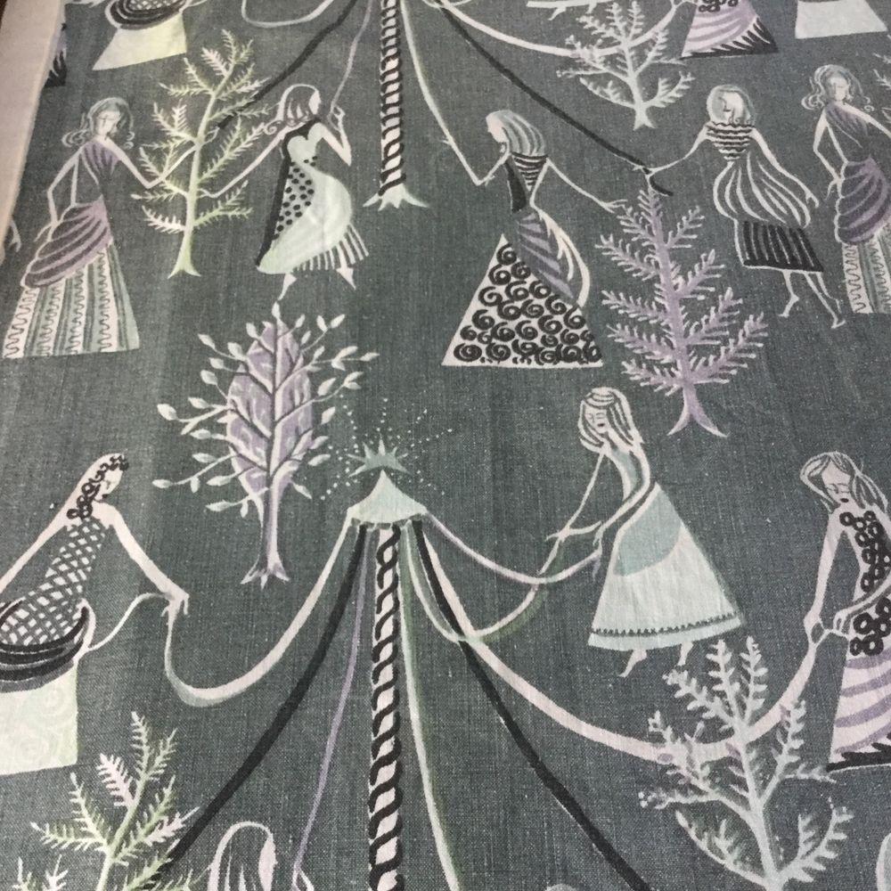 Vintage 1950s Curtain Fabric Stig Lindberg? | Stig lindberg ...