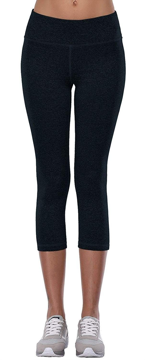 Womens Activewear Yoga Pants High Rise Workout Gym Spandex Tights Leggings – Darkblue – CE1858DQQ7Z...