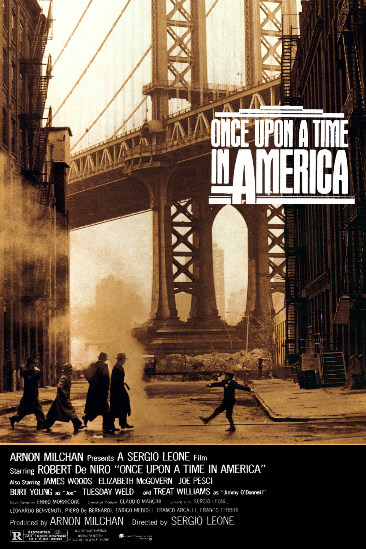 Il était Une Fois En Amerique : était, amerique, Amérique,, Cœur, L'histoire, ©New, America, Movie,, Sergio, Leone,, Badass, Movie