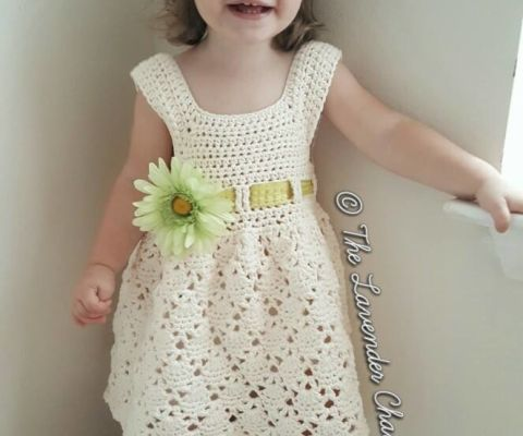 Vintage Baby Dress Free Crochet Pattern The Lavender Chair