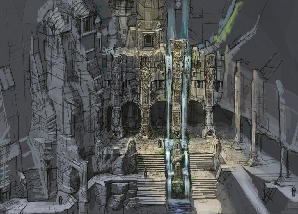 The Guide To Open World Environment Design Skyrim Concept Art Skyrim Art Environment Design