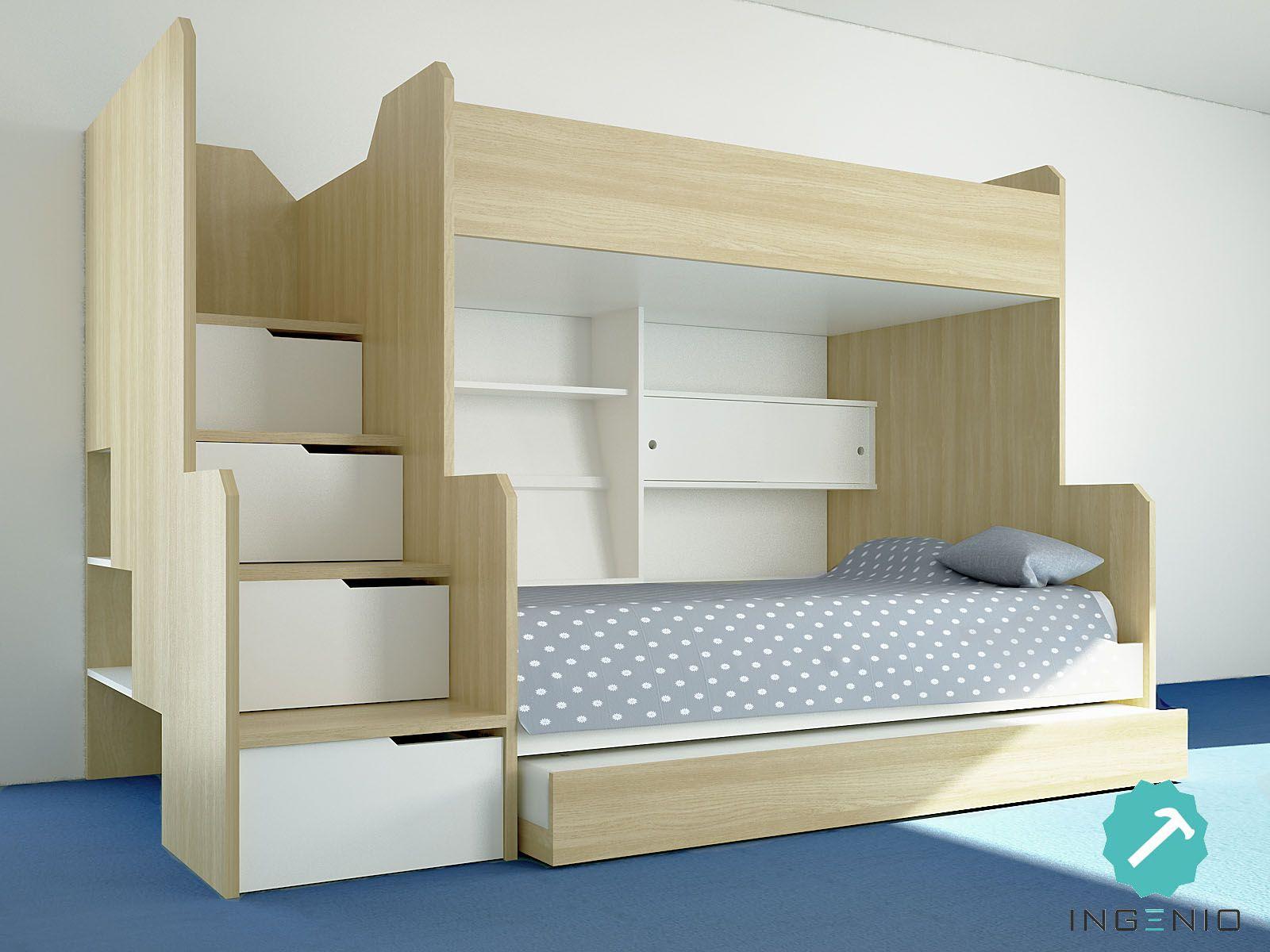 dormitorio niños camarote carpinteria ingenio | decoracion tomas ...