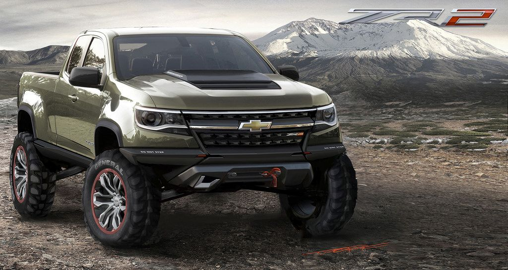 Chevrolet Colorado ZR2 Concept (With images) Chevrolet