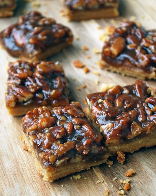 tastebudswag:  Pecan Pie Bars