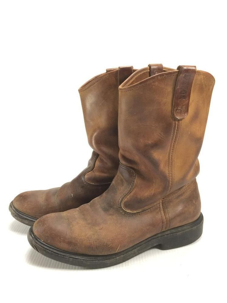 64bc97ee406 Red wing Pecos mens size 10.5 western biker cowboy boots  RedWingShoes   CowboyWestern