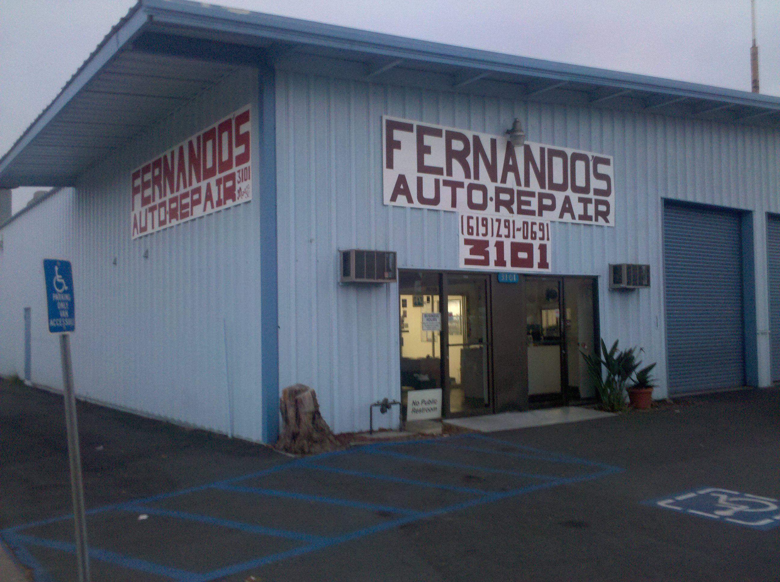 Fernandos auto repair auto repair repair outdoor decor
