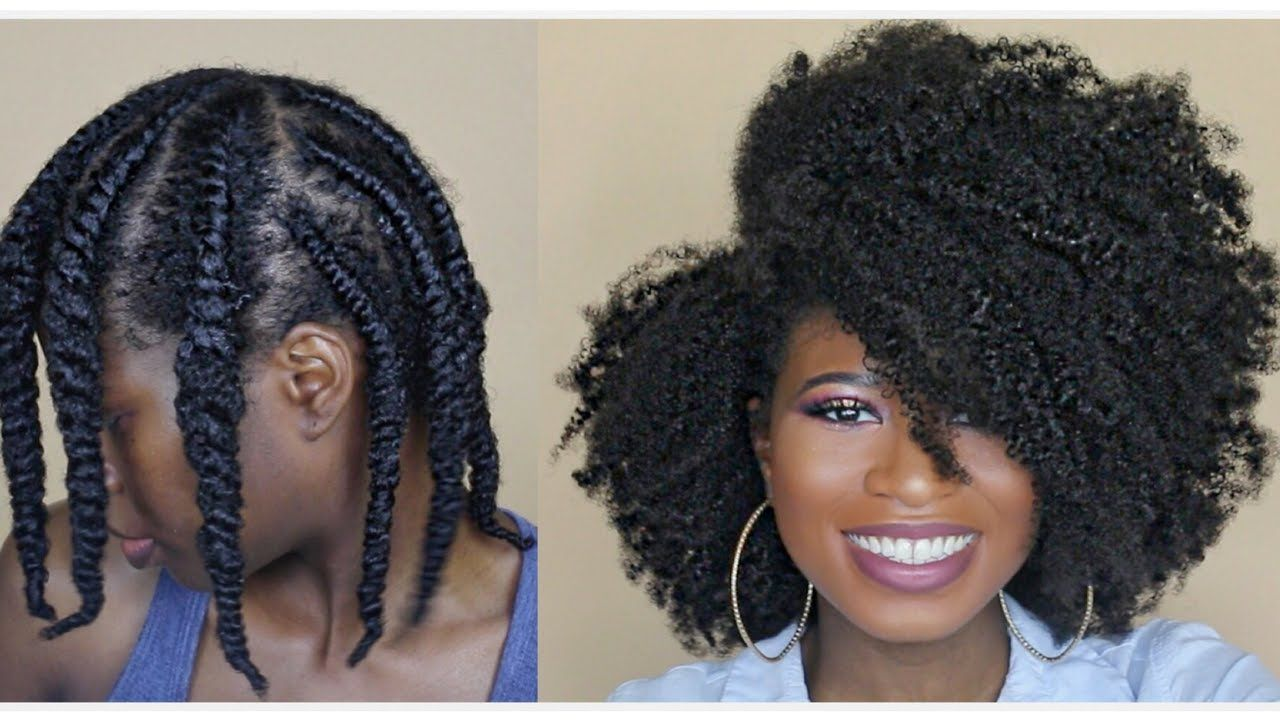 How to get the PERFECT Flat Twist Out EVERY TIME (4a, 4b