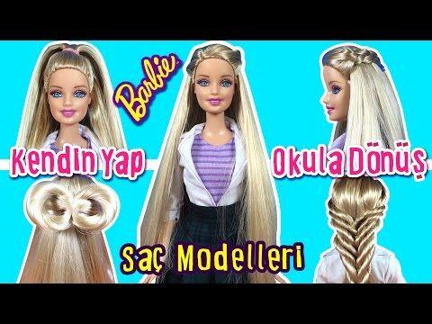 Barbie Sac Modelleri Kendin Yap Barbie Bebek Sac Orgu Nasil