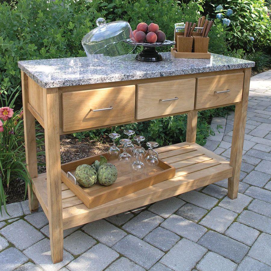 Outdoor buffet for the home pinterest buffet backyard and diy