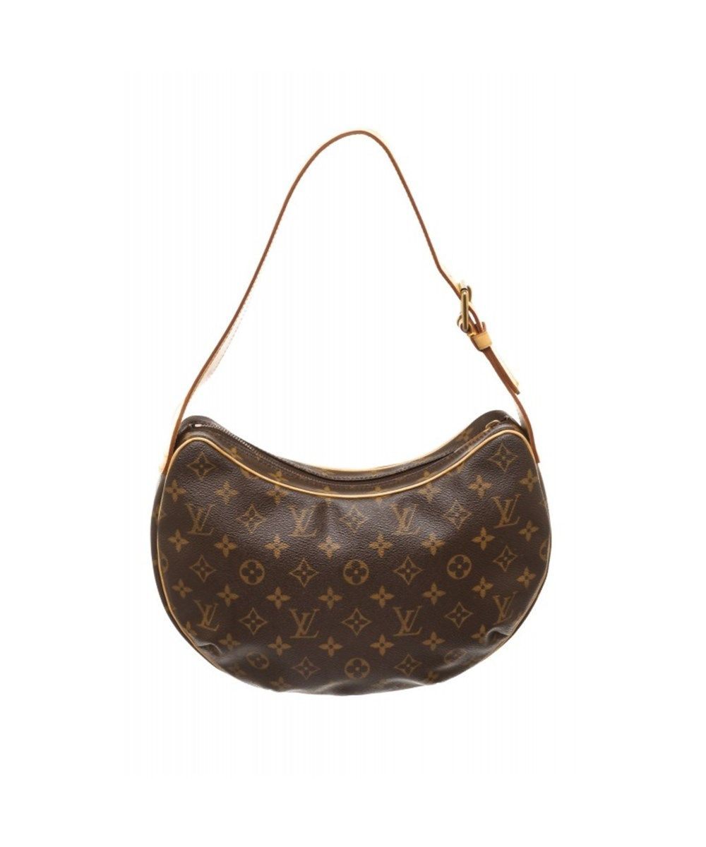 8b120c795a92 LOUIS VUITTON Pre Owned - Louis Vuitton Monogram Canvas Leather Croissant  Pm Shoulder Bag .  louisvuitton  bags  shoulder bags  leather  canvas