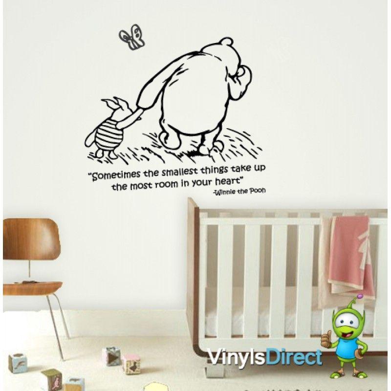 Disney Winnie The Pooh Classic Wall Sticker Nice Design