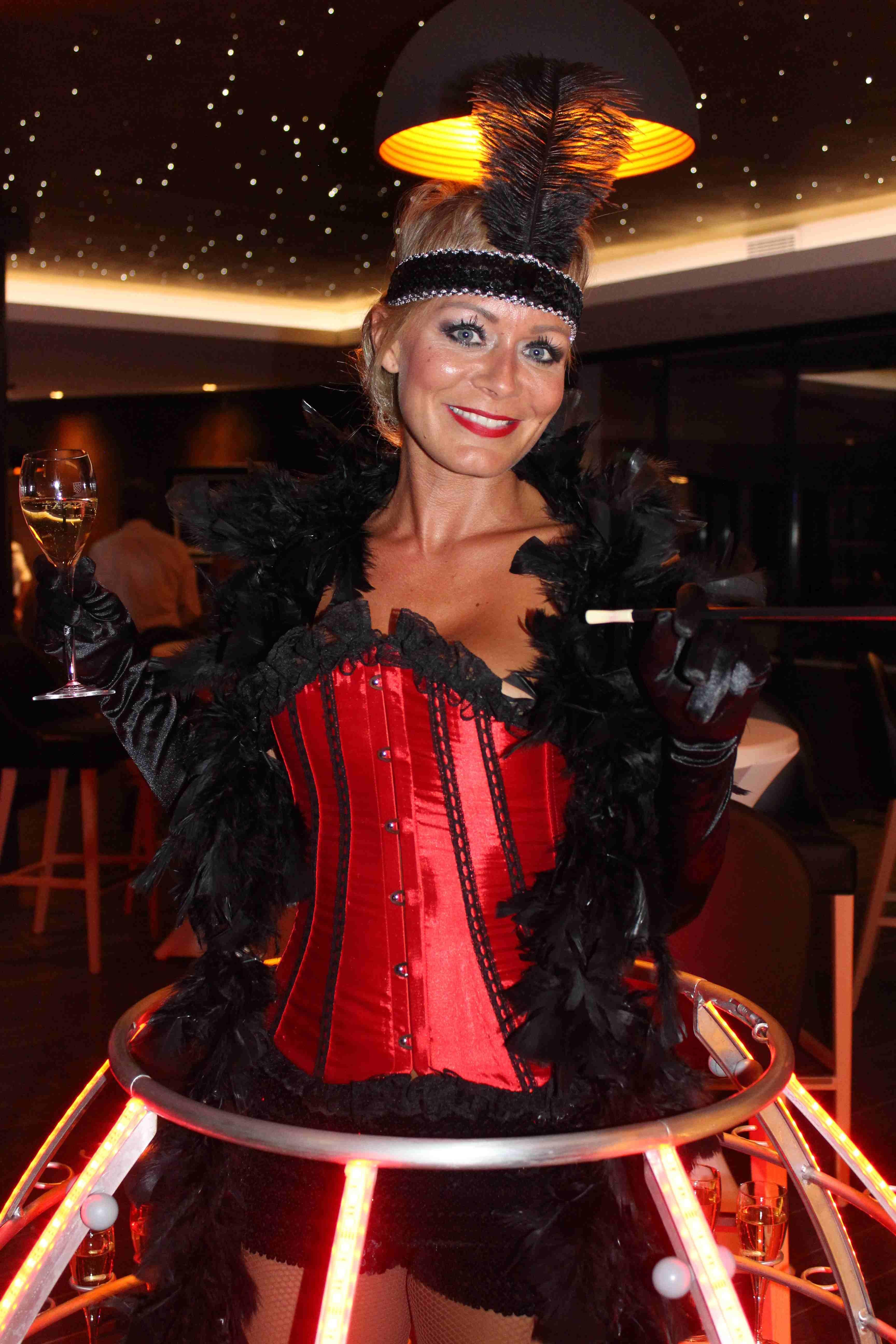 """Tenue cabaret pour notre hôtesse """"Robe Cocktail"""" Robe"""