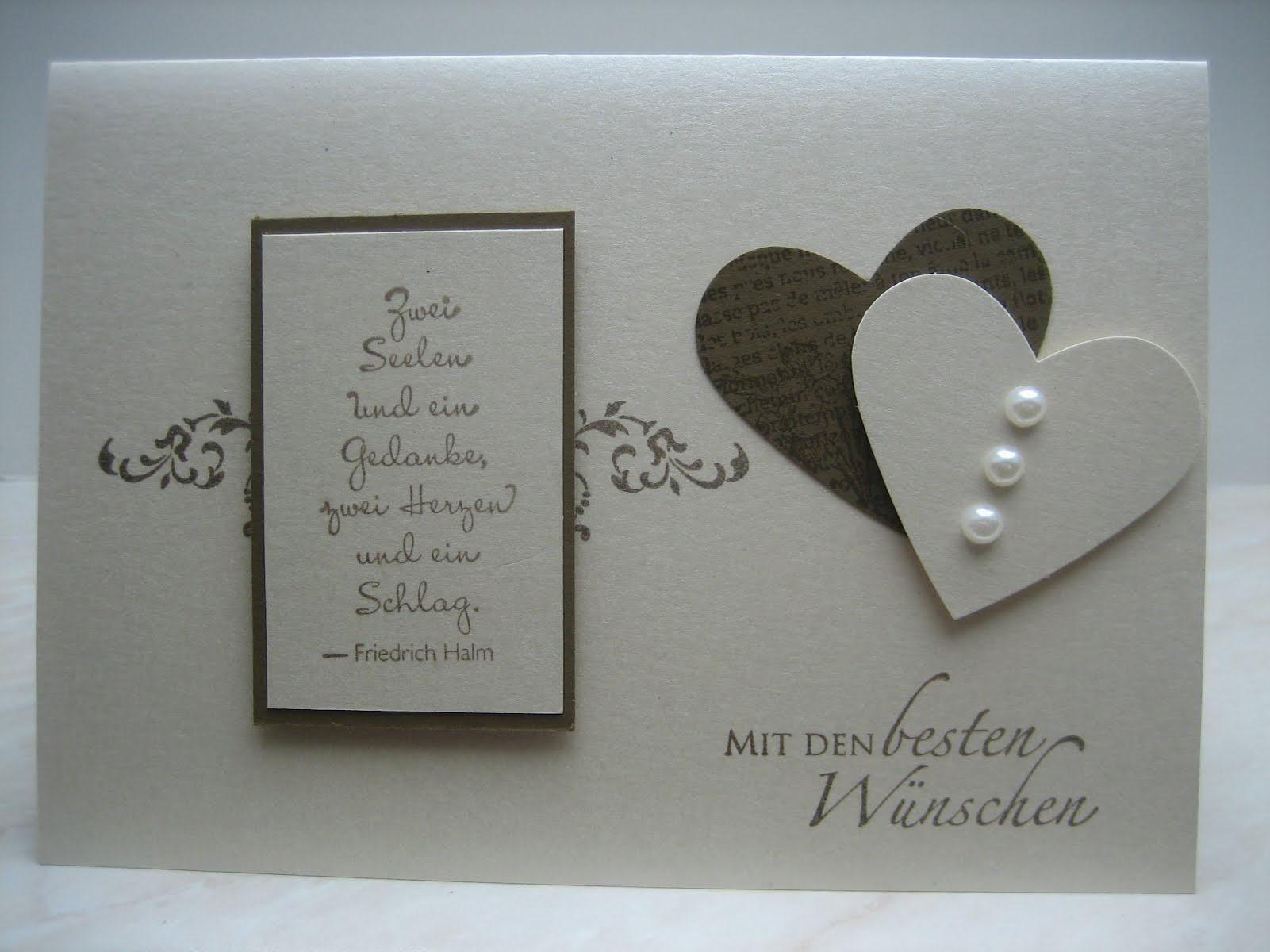 Bildergebnis Fur Hochzeitskarten Selber Basteln Hochzeitkarten