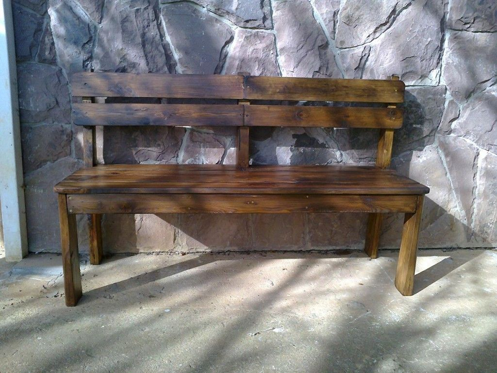 Costruire mobili ~ Come costruire una panchina di legno per la veranda riciclo