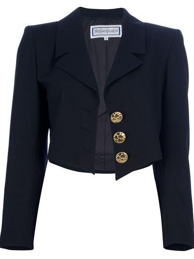 30d963bb9ba YVES SAINT LAURENT VINTAGE Spencer Jacket | Stuff to buy in 2019 ...