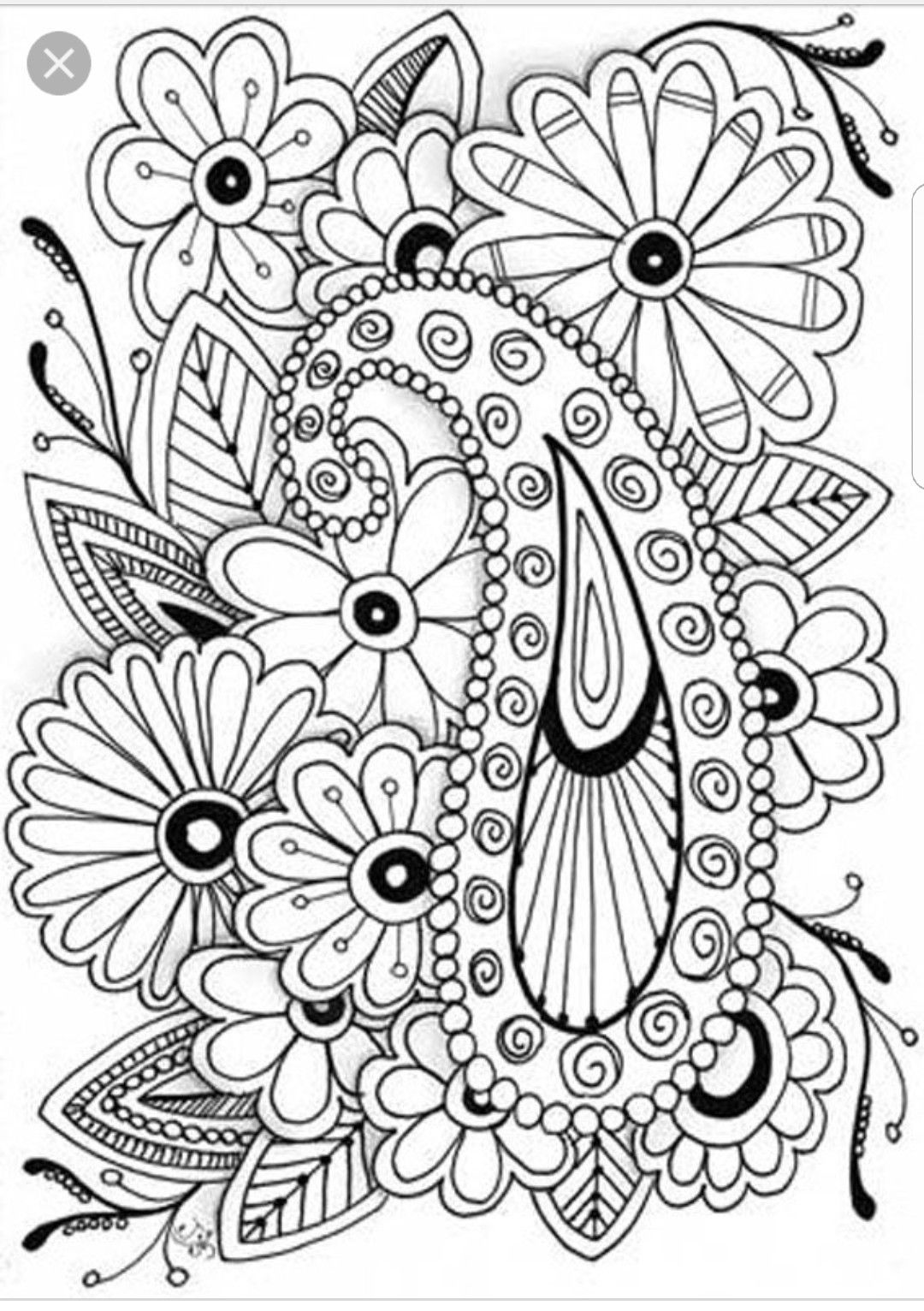 Pin By Julie Miner On Doodles And More Flower Coloring Pages Abstract Coloring Pages Coloring Pages