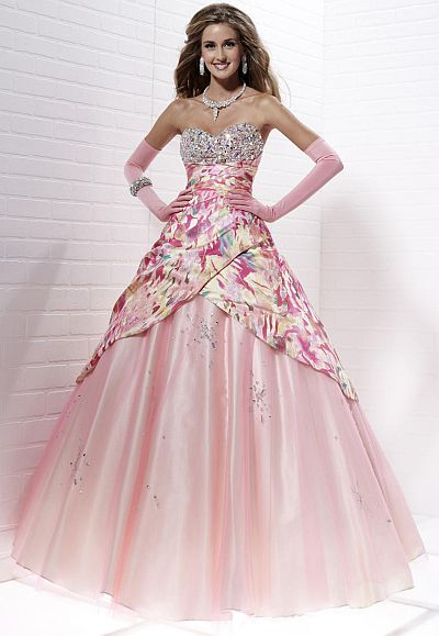 Tiffany Designs Ball Gowns