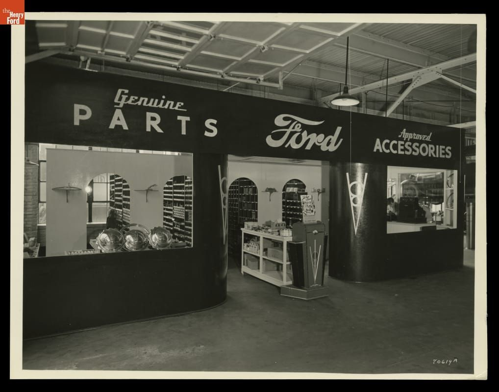 Parts And Accessories Department At Russ Dawson Ford Dealership