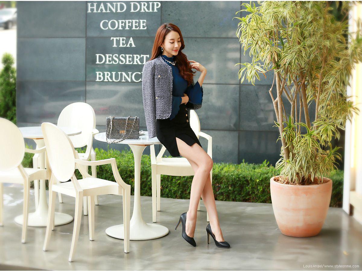 Korean women s fashion shopping mall styleonme n park soo yeon