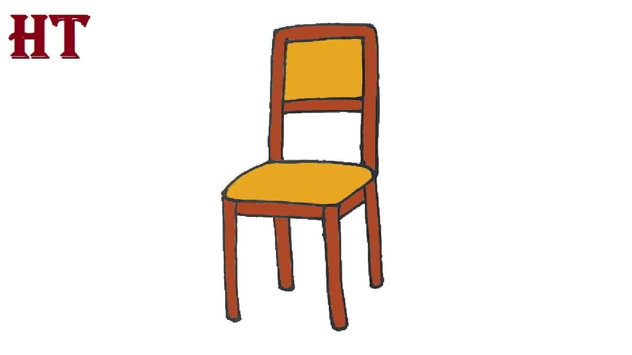 How To Draw A Chair Step By Step For Beginners In 2020 Drawing Tutorial Easy Drawing Tutorials For Beginners Easy Drawings
