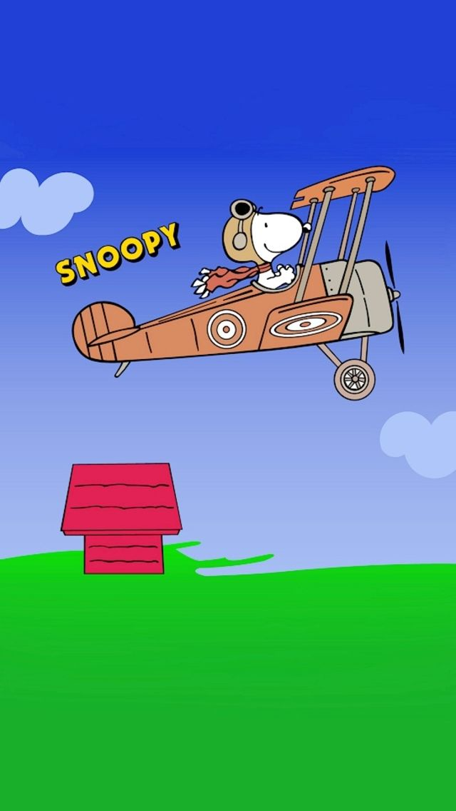 Wallpaper Snoopy Charlie Brown Red Baron Pinterest Snoopy