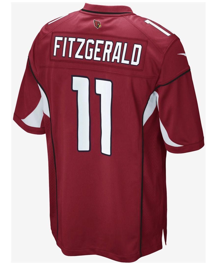 b3a3c1bf Kids' Arizona Cardinals Larry Fitzgerald Jersey, Big Boys (8-20 ...