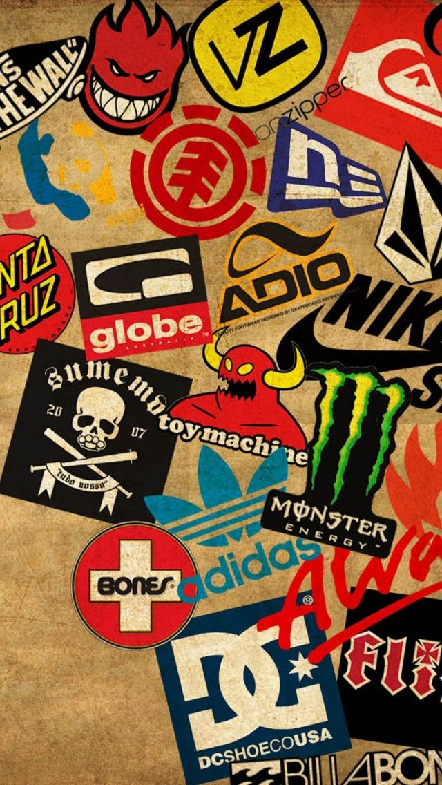 Skateboarding Logo Wallpaper