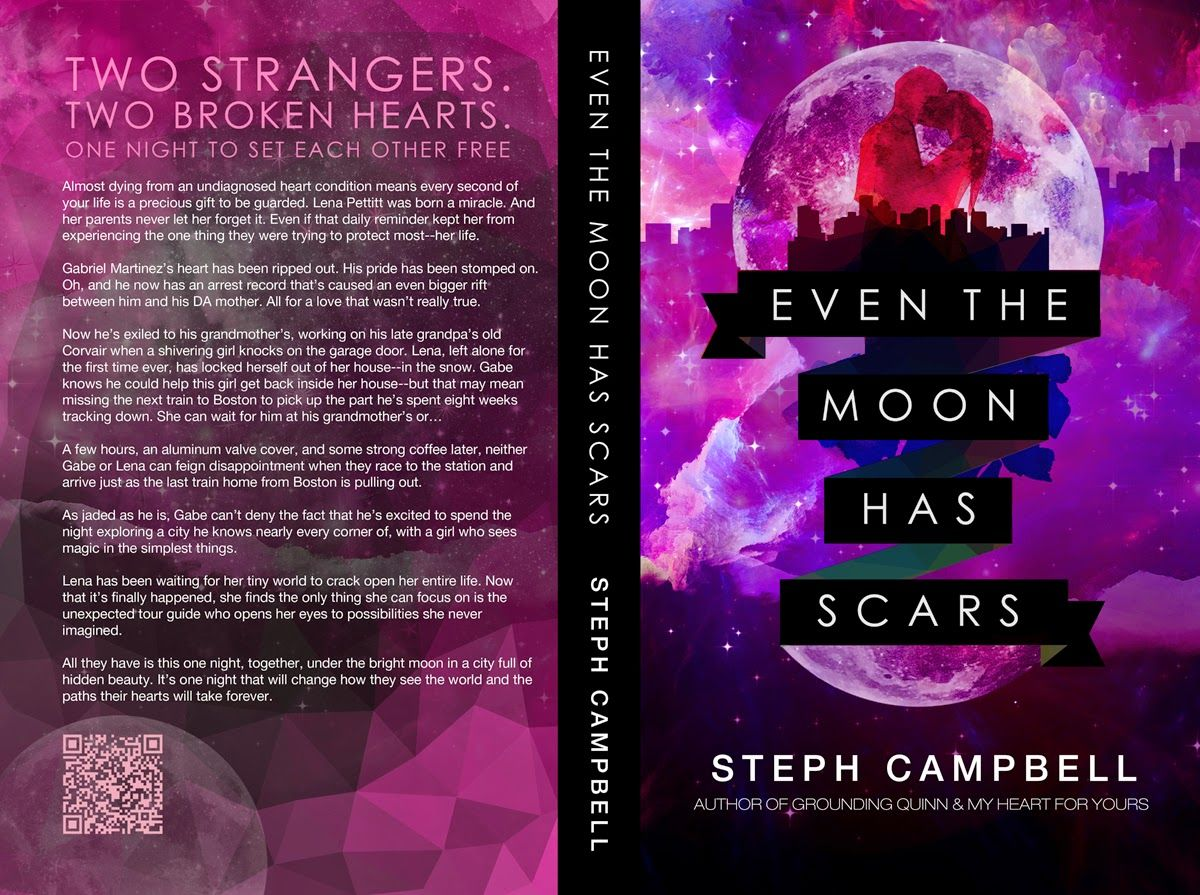The Autumn Review: COVER REVEAL: Even the Moon Has Scars by Steph Campbell