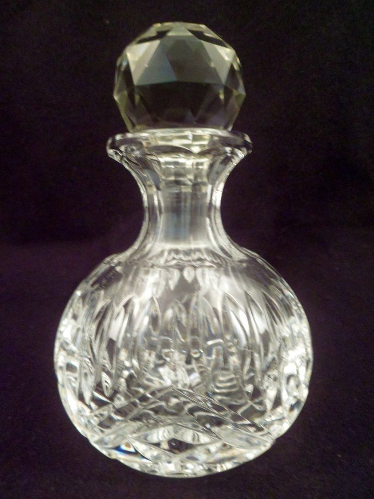 American Brilliant Period Antique Cut Crystal Perfume Bottle Stunning Perfume Bottles Decorative Arts
