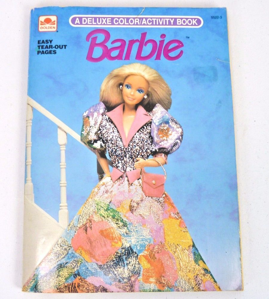 Barbie By Golden Books Staff 1990 Paperback