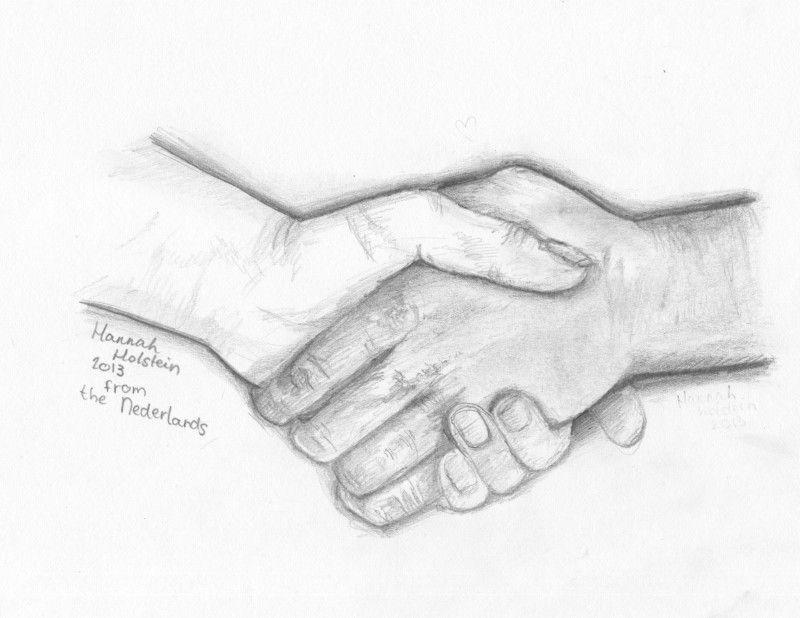 twee handen in elkaar