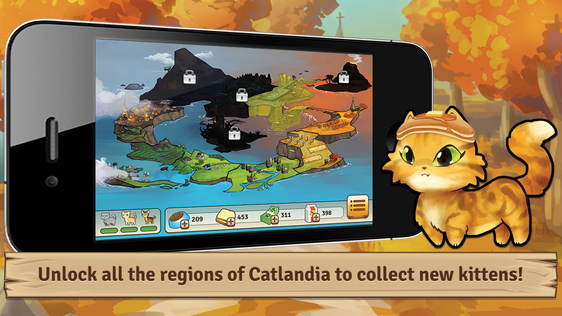 Bread Kittens Playing Role Ios Adventure Funny Games Kittens Animation