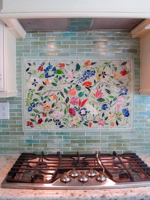 Creating The Perfect Kitchen Backsplash With Mosaic Tiles Mosaic