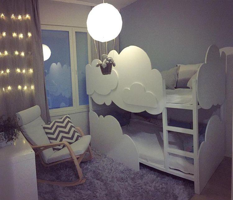 Ikea Kura Bett Umgestalten Weiss Wolken Hochbett Geschwister Ikea Kura Bett Umgestalten Ikea Kura Bett Kura Bett Umgestalten