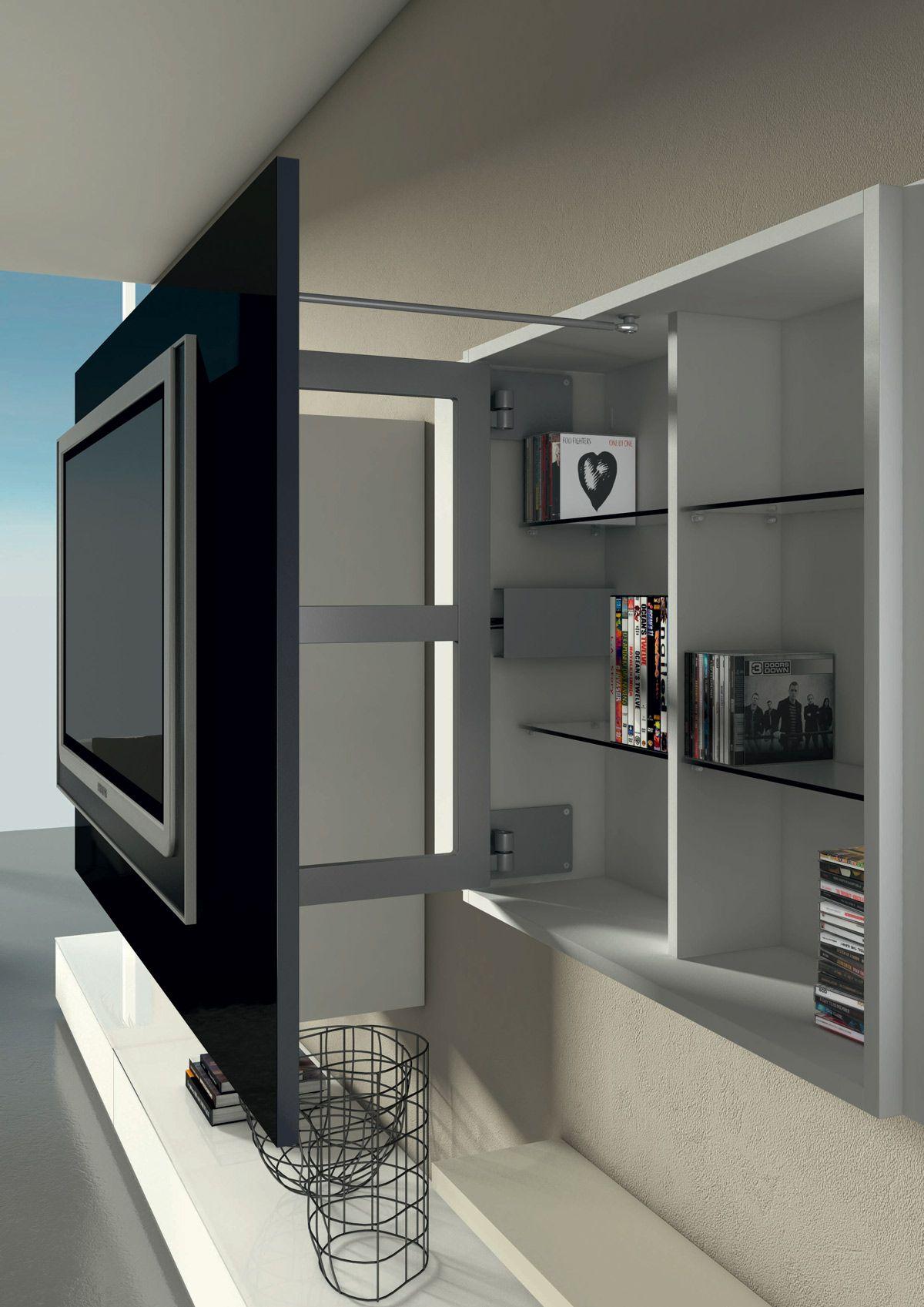 porta tv con contenitore X1 - Dettaglio Prodotto