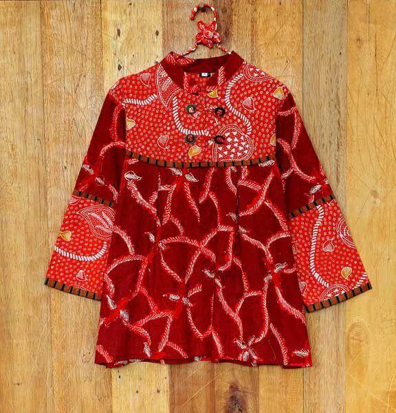 Kemeja Batik Lasem: Pin Oleh Ambarwati Taryanto Di Indonesian Clothes