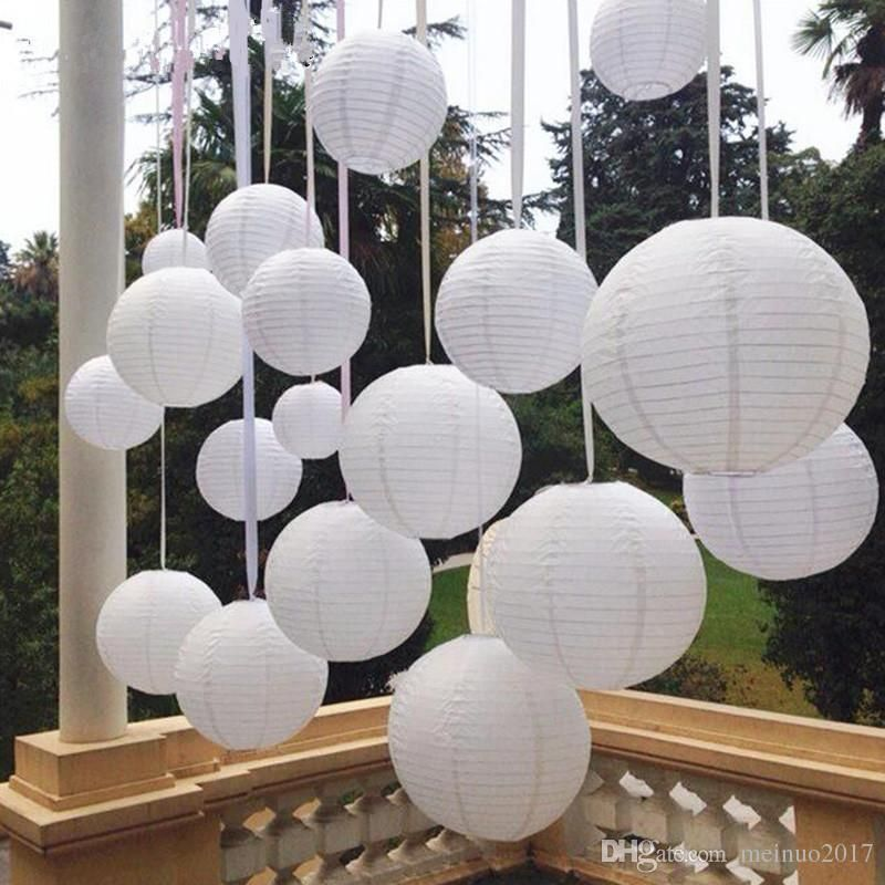 """Wedding Party Event yj Pink 6/"""" inch Chinese Paper Lantern w// LED Lights"""