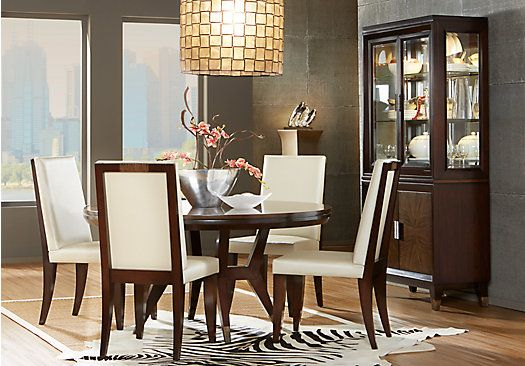 Picture Of Cindy Crawford Home Philadelphia 5 Pc Dining Room From Sets Furniture