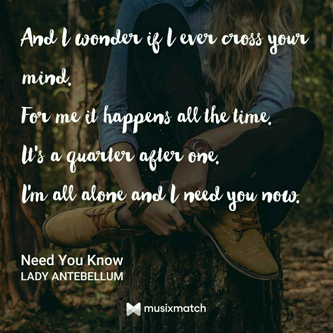 Need You Now By Lady Antebellum With Images Lady Antebellum
