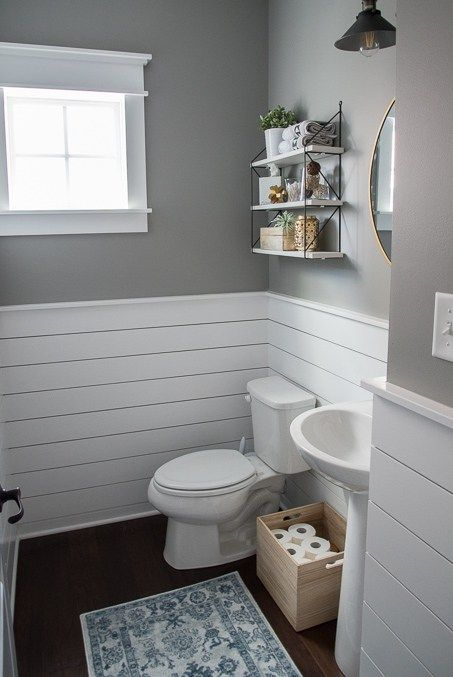 Fresh Modern Powder Room Reveal Bathroom Ideas Pinterest