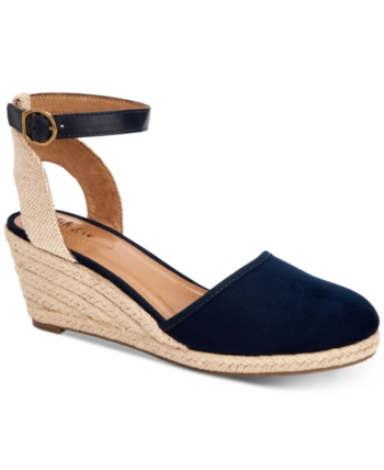 a6b90ed3c36 Style&Co. Style & Co Mailena Wedge Espadrille Sandals, Women Shoes ...