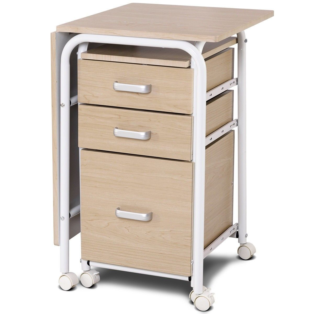 Folding Computer Laptop Desk Wheeled Home Office Furniture 104 95 Free Shipping This Is The Fol Home Office Furniture Home Office Furniture Desk Laptop Desk