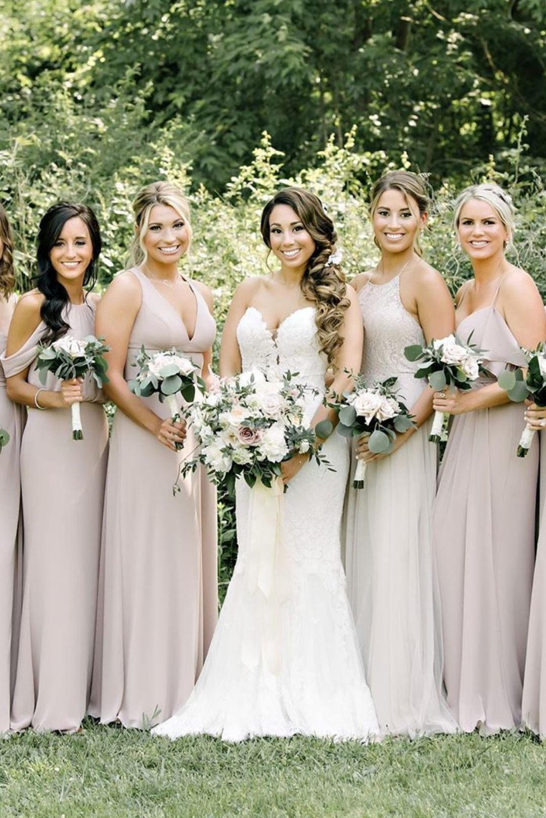 Shop By Neutral Brideside Neutral Bridesmaid Dresses Rustic Bridesmaid Dresses Taupe Bridesmaid