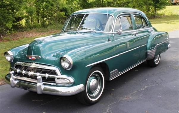 1952 chevrolet styleline deluxe 4 door vintage cars for 1952 chevy deluxe 2 door for sale