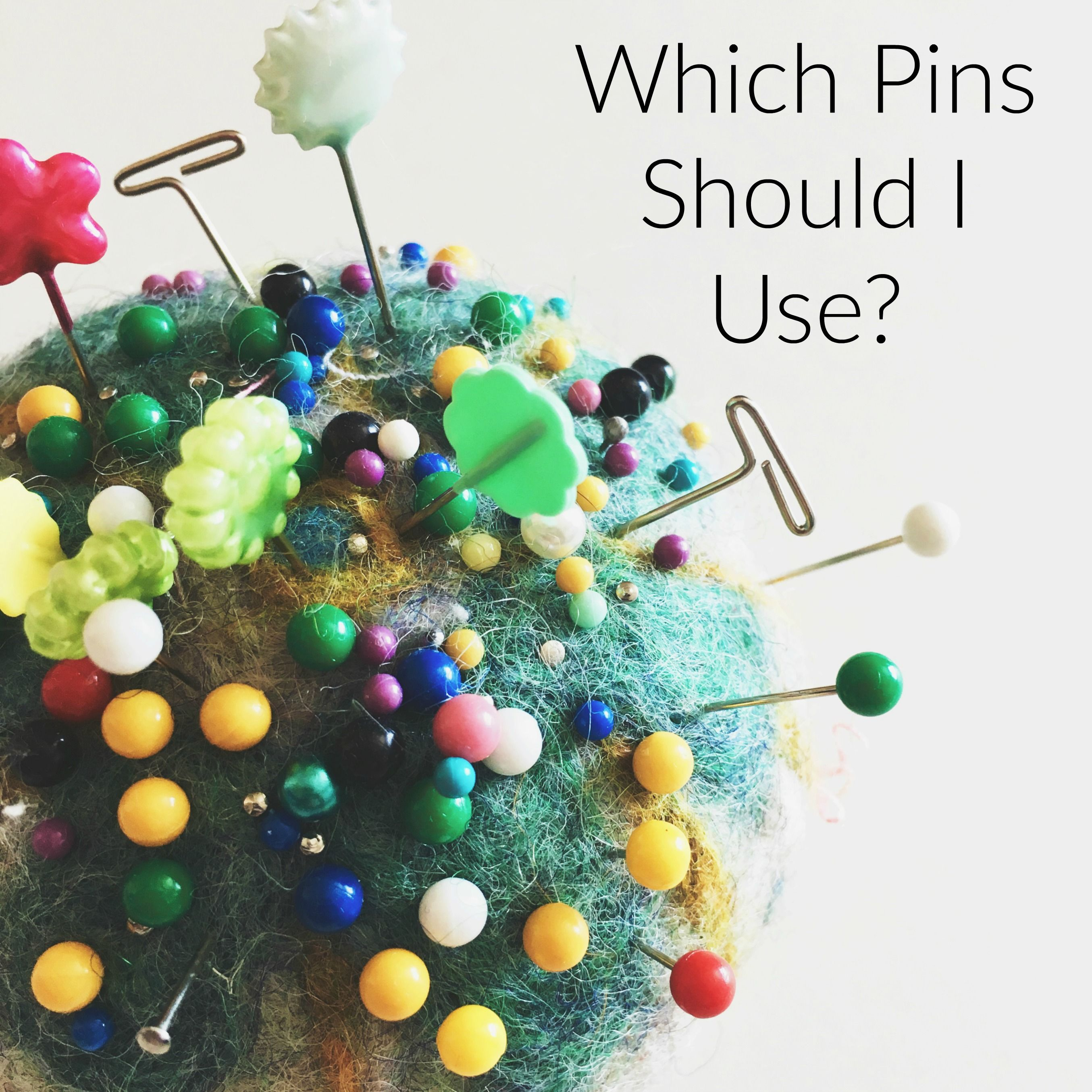 Which Pins Should I Use | Sewing basics, Sewing machines ...